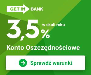 Świetne konto w Getin Banku!